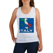 Map Of Italy Women's Tank Top