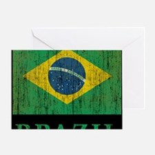 Vintage Brazil Greeting Card
