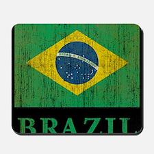 Vintage Brazil Mousepad
