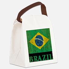Vintage Brazil Canvas Lunch Bag