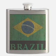 Vintage Brazil Flask