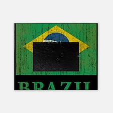 Vintage Brazil Picture Frame