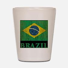 Vintage Brazil Shot Glass