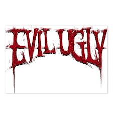 Evil Ugly Logo Postcards (Package of 8)