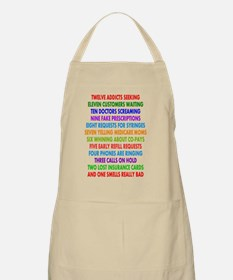 PHARMACIST 12 DAYS OF CHRISTMAS 2 Apron
