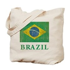Vintage Brazil Tote Bag