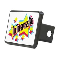 no trespassing glambert co Hitch Cover