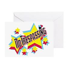 no trespassing glambert concert wear Greeting Card