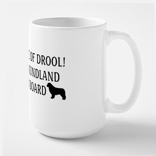 Beware of Drool Large Mug