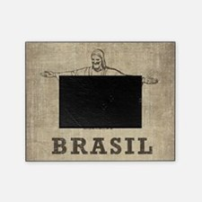 Vintage Christ The Redeemer Picture Frame