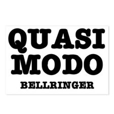 QUASIMODO - BELLRINGER Postcards (Package of 8)