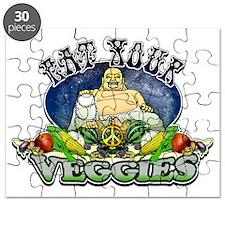 EAT YOUR VEGGIES Puzzle