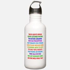 PHARMACIST 12 DAYS OF  Water Bottle