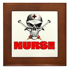Evil Nurse Framed Tile
