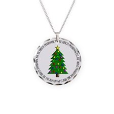 retired pharmacist ornament Necklace