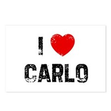 I * Carlo Postcards (Package of 8)