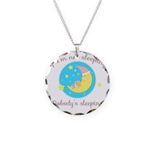 Sleeping Baby Necklace