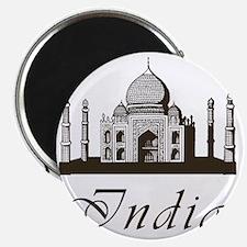 Retro Taj Mahal Magnet