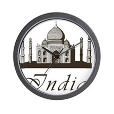 Retro Taj Mahal Wall Clock