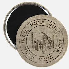 Vintage India Magnet