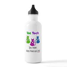 Vet Tech 2 vertical Water Bottle