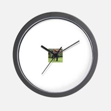 Xander in Garden Wall Clock