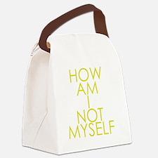 How am I not a Huckabee? Canvas Lunch Bag
