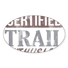 Certified Trail Enthusiast dark Decal