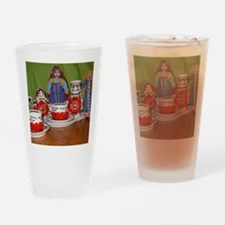 DollyTeaPrint Drinking Glass