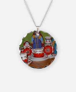 Russian Doll Tea Time Necklace