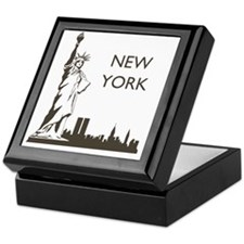 Retro New York Keepsake Box