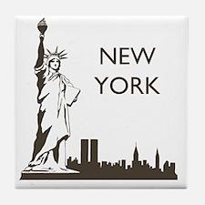 Retro New York Tile Coaster