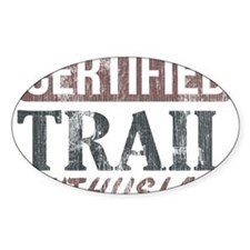 Certified Trail Enthusiast lite Decal