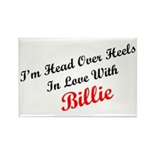 In Love with Billie Rectangle Magnet