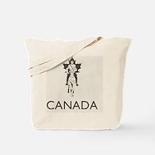 Retro Canada Tote Bag