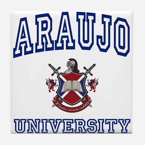 ARAUJO University Tile Coaster