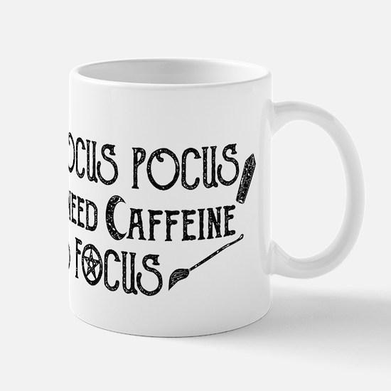 Hocus Pocus, I need Caffeine to Focus Mugs