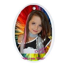 Rockstar Lilly Oval Ornament