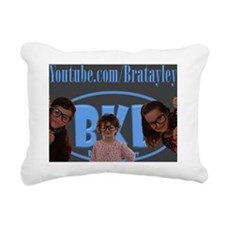 bkb puzzle Rectangular Canvas Pillow