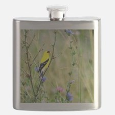 American Goldfinch Flask
