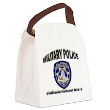 California National Guard MP Canvas Lunch Bag