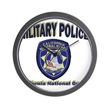 California National Guard MP Wall Clock