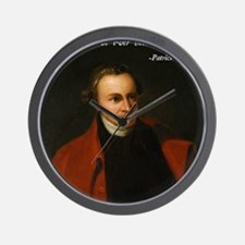 Patrick Henry Bible Quote Wall Clock