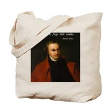 Patrick Henry Christian Quote Tote Bag