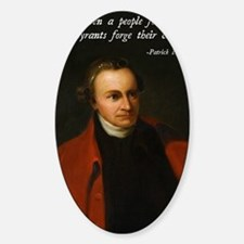 Patrick Henry Christian Quote Decal