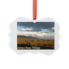 Crestone Baca Village Ornament