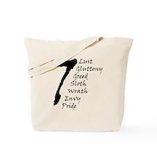 7DeadlySins Tote Bag