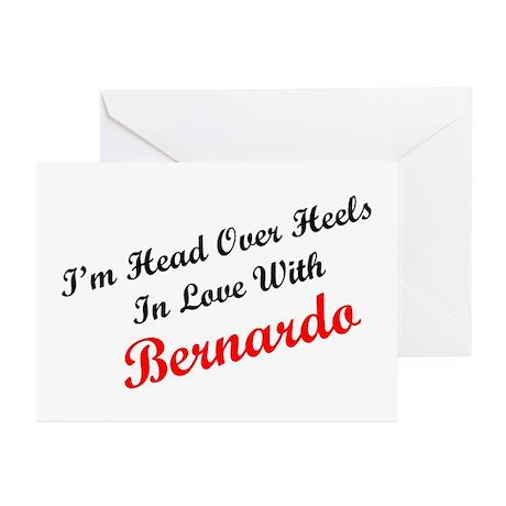 In Love with Bernardo Greeting Cards (Pk of 10