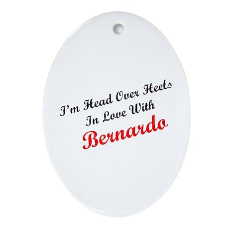 In Love with Bernardo Oval Ornament