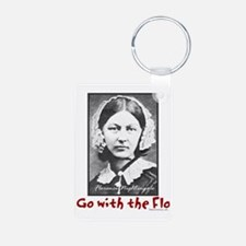 Go with the Flo - Florence Keychains